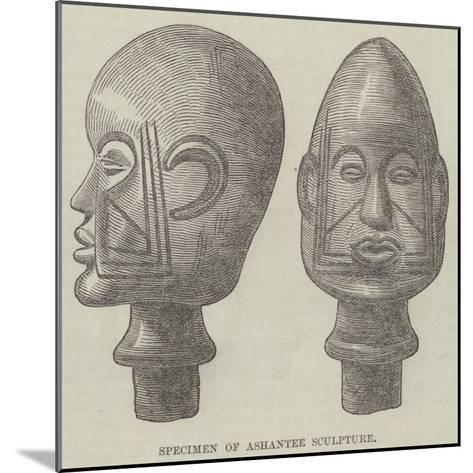 Specimen of Ashantee Sculpture--Mounted Giclee Print