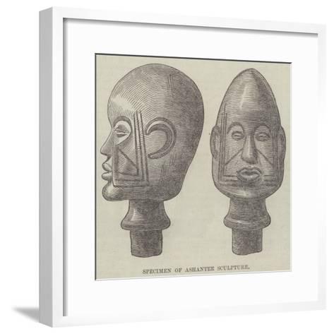 Specimen of Ashantee Sculpture--Framed Art Print