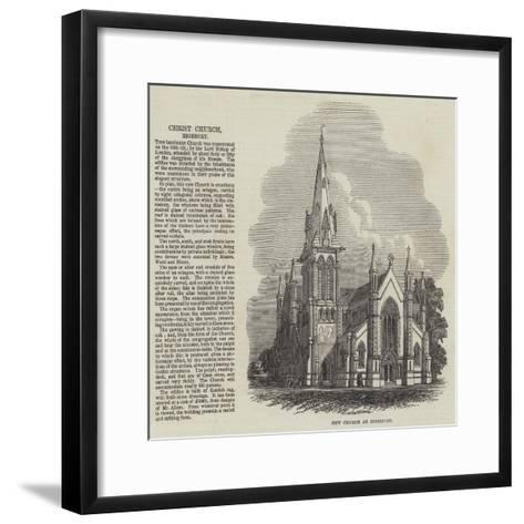 Christ Church at Highbury--Framed Art Print