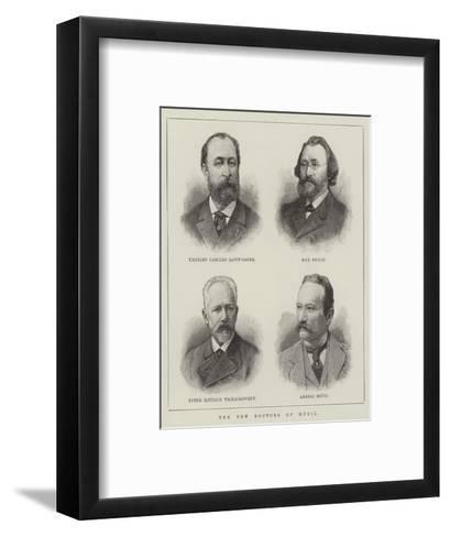 The New Doctors of Music--Framed Art Print