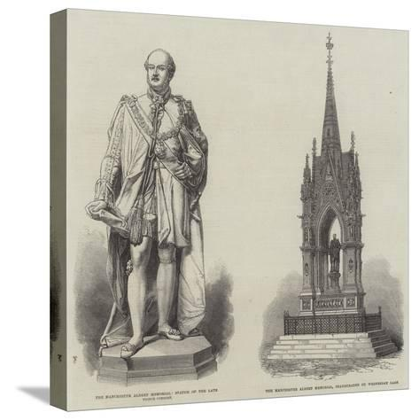 The Manchester Albert Memorial--Stretched Canvas Print