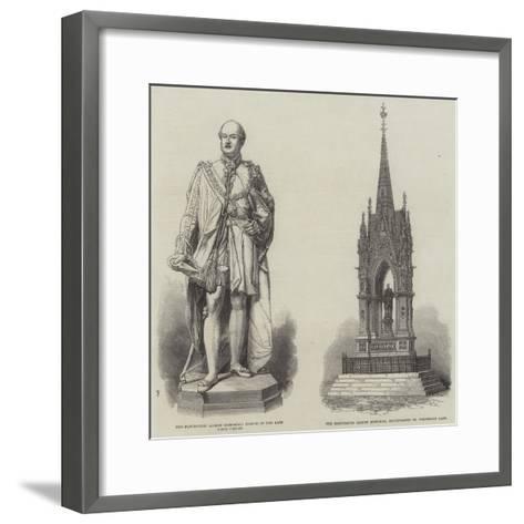 The Manchester Albert Memorial--Framed Art Print
