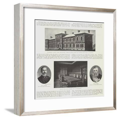 The Conference in Bloemfontein--Framed Art Print