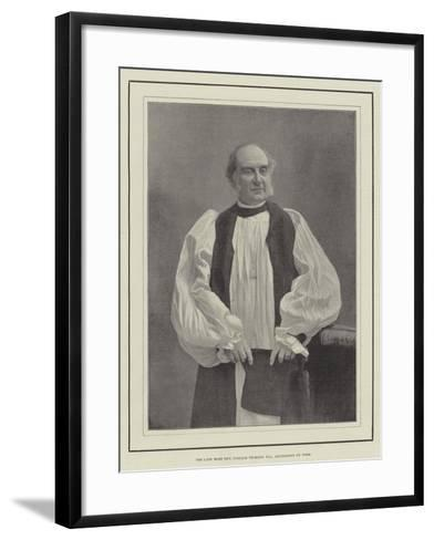 The Late Most Reverend William Thomson, Archbishop of York--Framed Art Print
