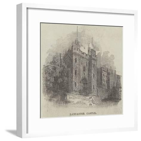 Lancaster Castle--Framed Art Print