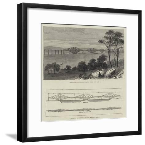 The Forth Bridge--Framed Art Print