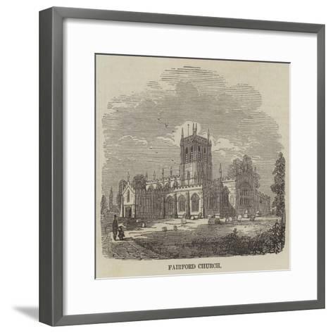 Fairford Church--Framed Art Print