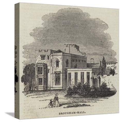 Brougham-Hall--Stretched Canvas Print