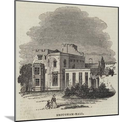 Brougham-Hall--Mounted Giclee Print