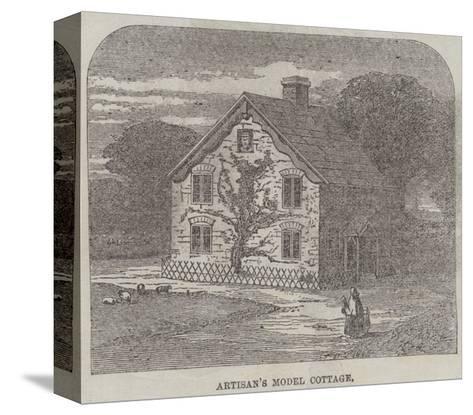 The Artisans' Suburban Cottage Movement--Stretched Canvas Print