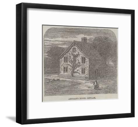 The Artisans' Suburban Cottage Movement--Framed Art Print