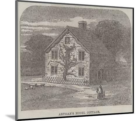 The Artisans' Suburban Cottage Movement--Mounted Giclee Print