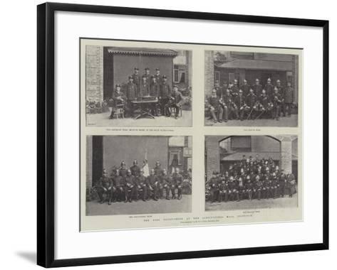 The Fire Tournament at the Agricultural Hall, Islington--Framed Art Print