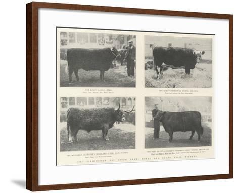The Birmingham Fat Stock Show, Royal and Other Prize Winners--Framed Art Print