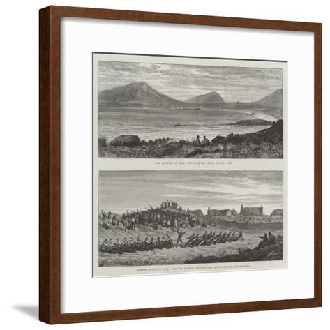Tiree in the Inner Hebrides--Framed Art Print