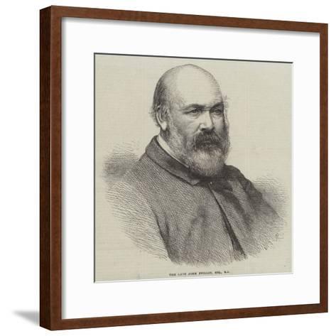 The Late John Phillip--Framed Art Print