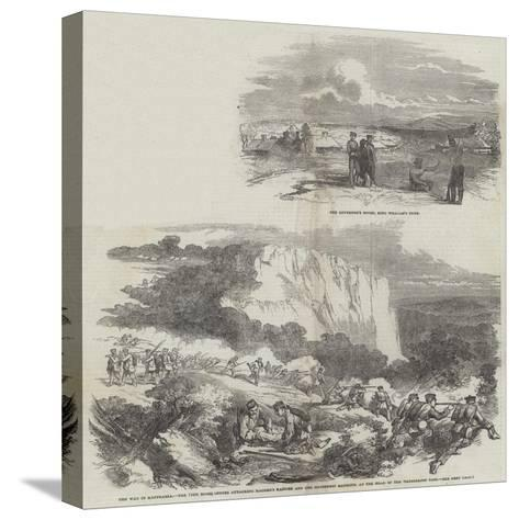 The War in Kaffraria--Stretched Canvas Print