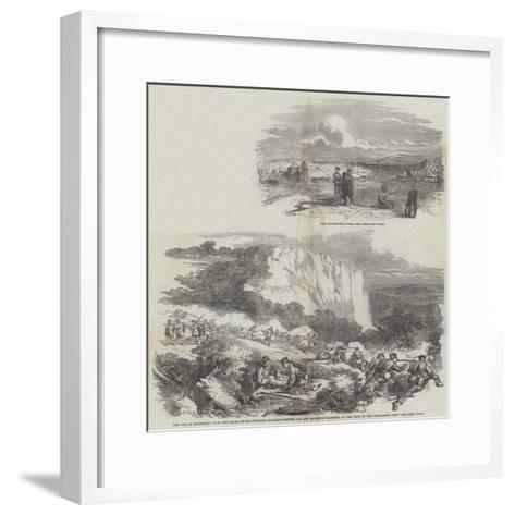The War in Kaffraria--Framed Art Print