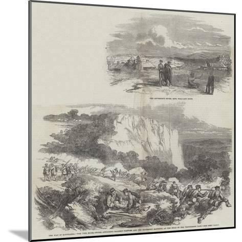 The War in Kaffraria--Mounted Giclee Print