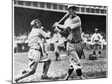 Johnny Evers of the Chicago Cubs in Action During 1906--Mounted Giclee Print