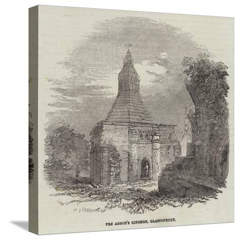 The Abbot's Kitchen, Glastonbury--Stretched Canvas Print