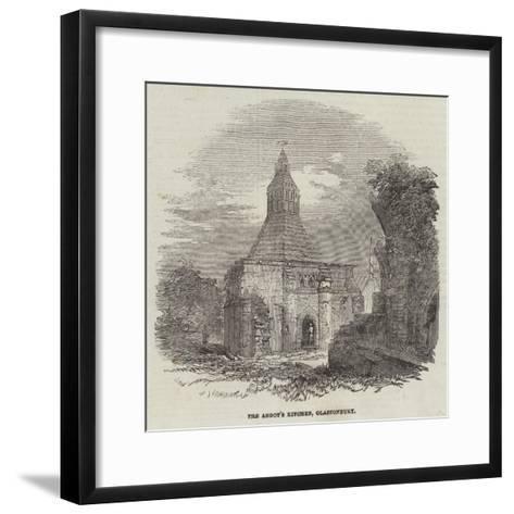 The Abbot's Kitchen, Glastonbury--Framed Art Print