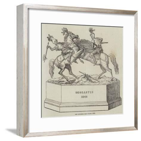 The Doncaster Prize Plate, 1846--Framed Art Print