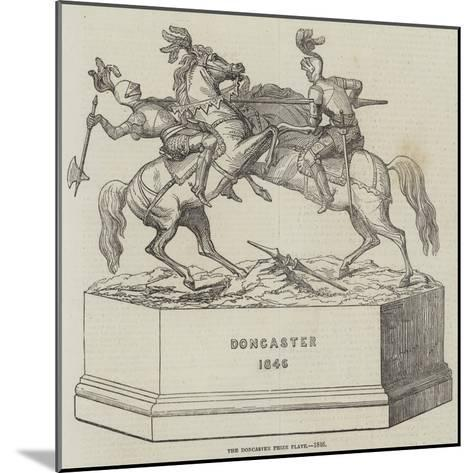 The Doncaster Prize Plate, 1846--Mounted Giclee Print
