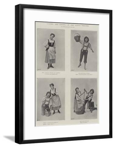 Hansel and Gretel, at the Gaiety Theatre--Framed Art Print