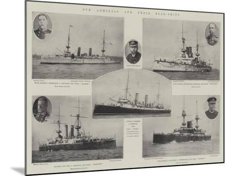 Our Admirals and their Flag-Ships--Mounted Giclee Print