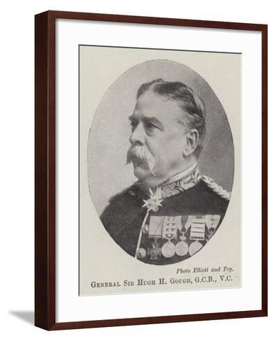 General Sir Hugh H Gough--Framed Art Print