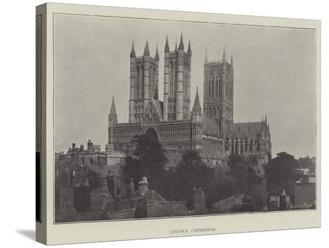 Lincoln Cathedral--Stretched Canvas Print