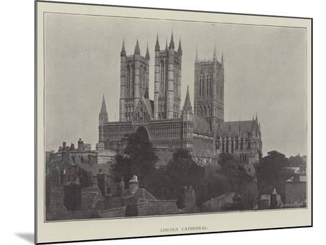 Lincoln Cathedral--Mounted Giclee Print