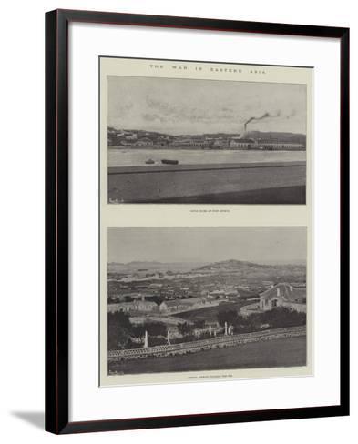 The War in Eastern Asia--Framed Art Print