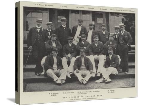The Australian Cricket Team--Stretched Canvas Print