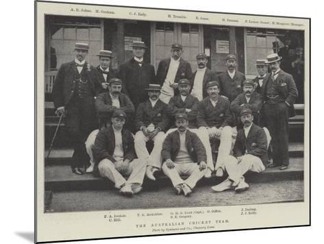 The Australian Cricket Team--Mounted Giclee Print