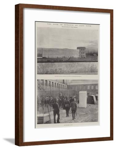 The Boer in Durance at Cape Town--Framed Art Print