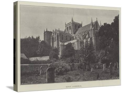 Ripon Cathedral--Stretched Canvas Print