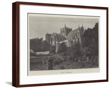 Ripon Cathedral--Framed Art Print