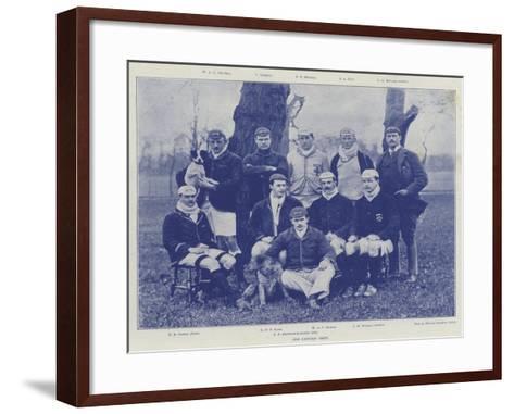 The Oxford Crew--Framed Art Print