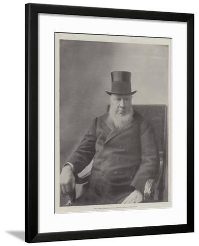 The Latest Portrait of Mr Kruger, Taken at the Hague--Framed Art Print
