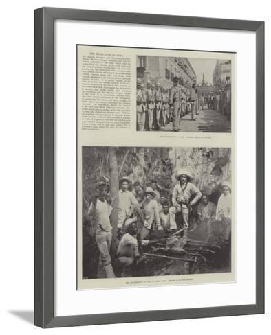 The Rebellion in Cuba--Framed Art Print
