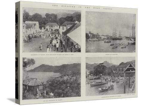 The Disaster in the West Indies--Stretched Canvas Print