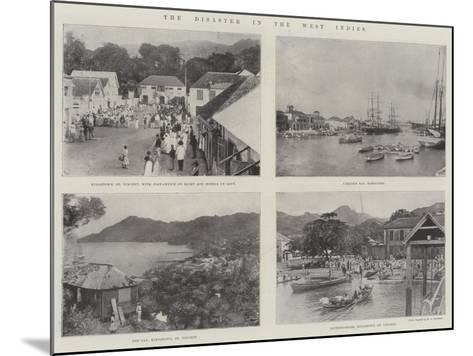 The Disaster in the West Indies--Mounted Giclee Print