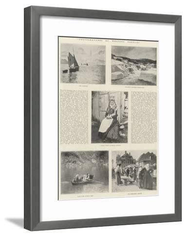 Photogravures of Western Norway--Framed Art Print