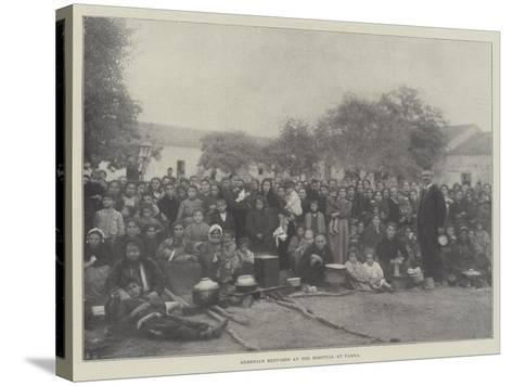 Armenian Refugees at the Hospital at Varna--Stretched Canvas Print