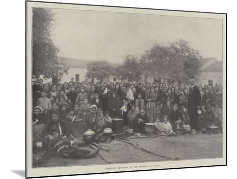 Armenian Refugees at the Hospital at Varna--Mounted Giclee Print