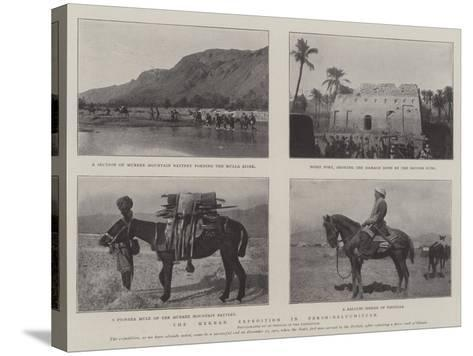 The Mekran Expedition in Perso-Baluchistan--Stretched Canvas Print