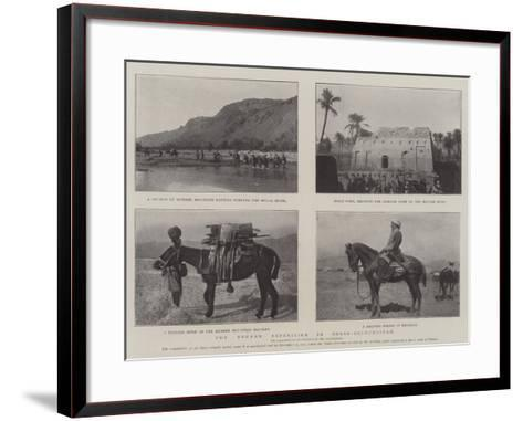 The Mekran Expedition in Perso-Baluchistan--Framed Art Print