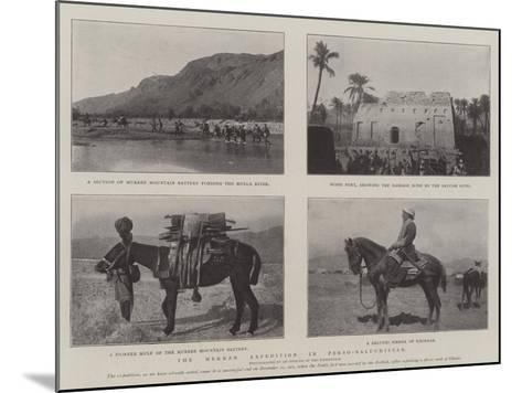 The Mekran Expedition in Perso-Baluchistan--Mounted Giclee Print